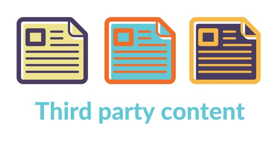 what is third party content new initiatives marketing