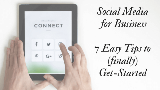 social media for business 7 tips to finally get started New Initiatives Marketing