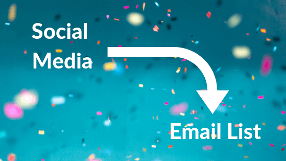Social media email list New Initiatives Marketing